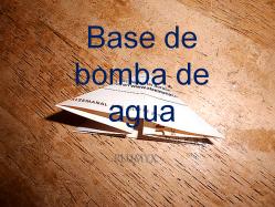 Base Bomba de agua