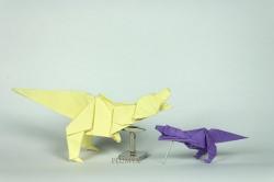 034_Tyrannosaurus_pareja