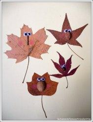 hojas-divertidas-munecos-como-hacer-manualidades-ideas-otono-ninos