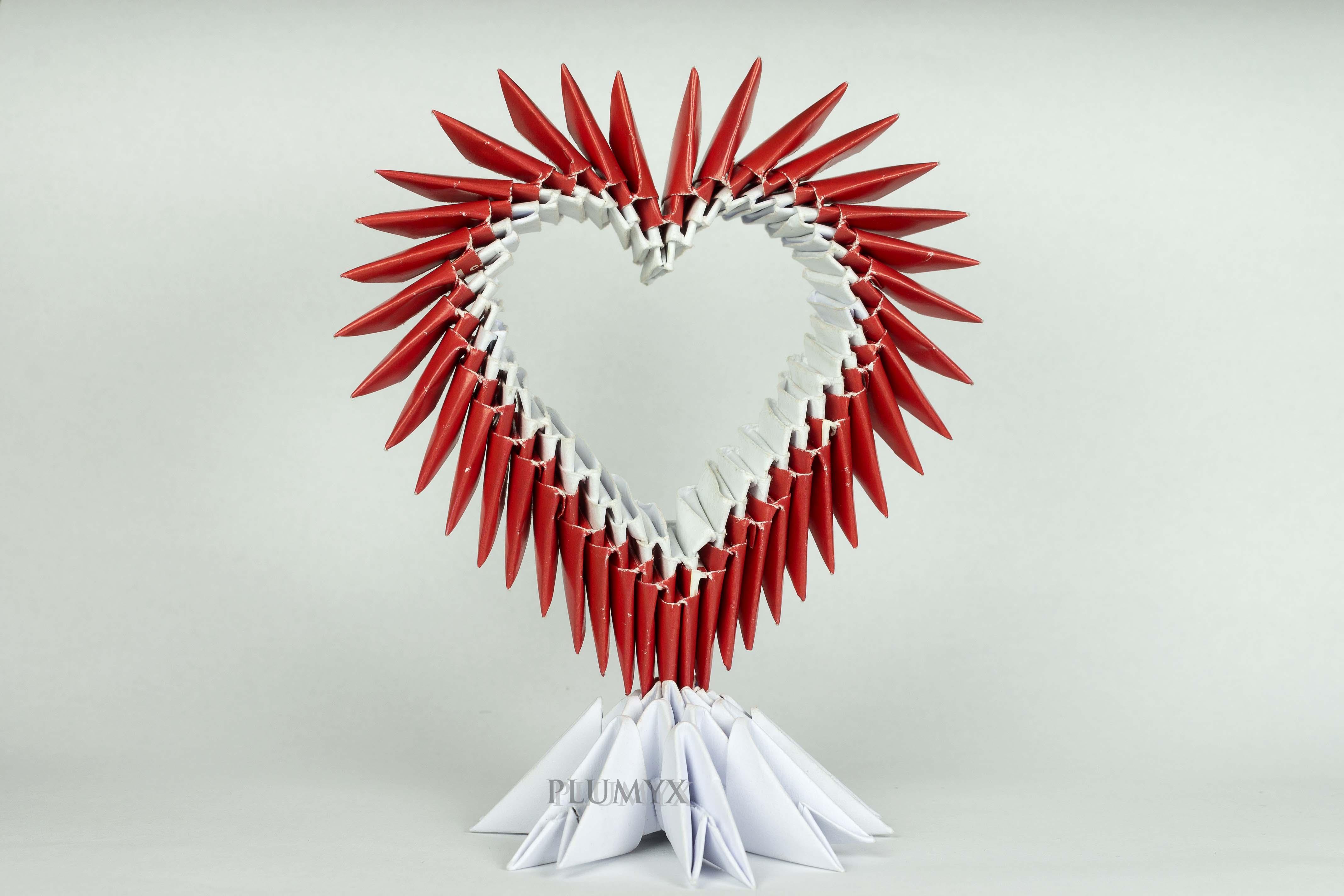 Corazón modular   Plumyx