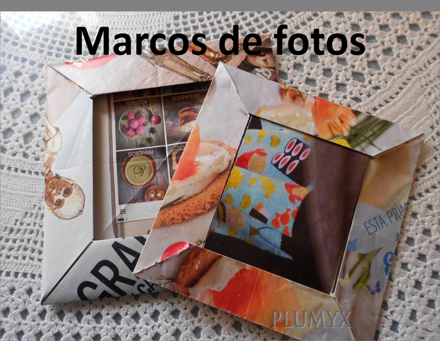 Marcos de fotos | Plumyx