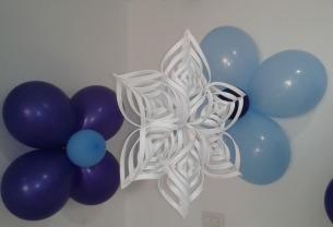 Copos De Nieve Para Decorar Fiesta Frozen.Decoracion Con Copos De Nieve Plumyx