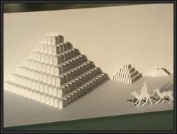 kirigami-piramide