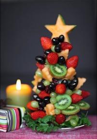 fresas y kiwi