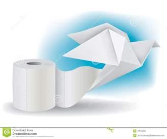 papel-higiénico-con-la-paloma-de-la-papiroflexia-43163665