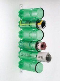 botellas revistero