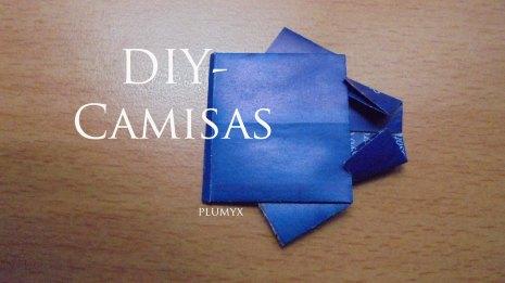 Haz Una Camisa De Origami Plumyx