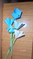 ramo flores azules2