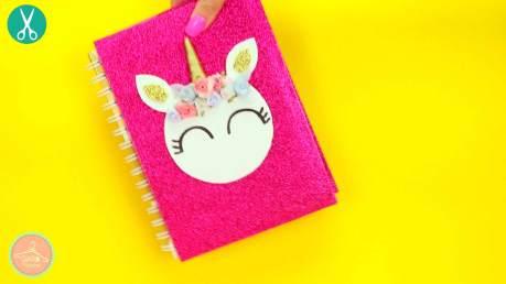 unicornio cuaderno