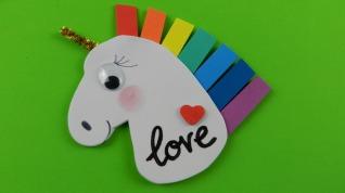 unicornio fieltro