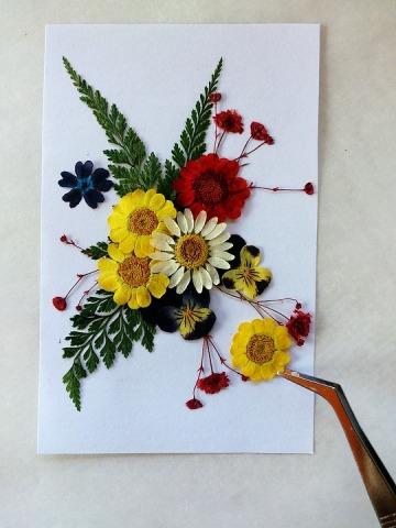 flores cuadro